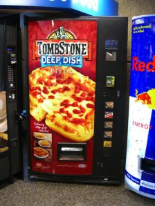 Tombstone Deep Dish Pizza Vending Machine